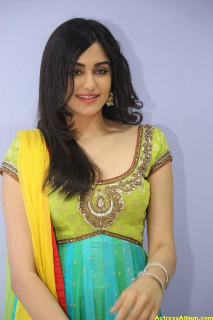 Actress Adah Sharma Hot In Yellow Dress 4
