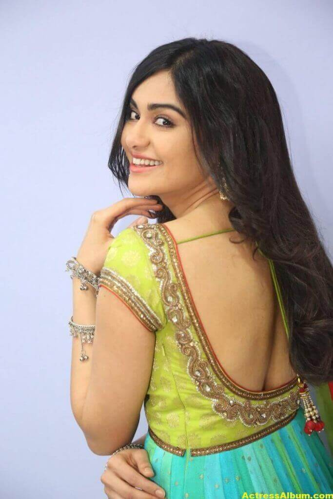 Actress Adah Sharma Hot In Yellow Dress 5