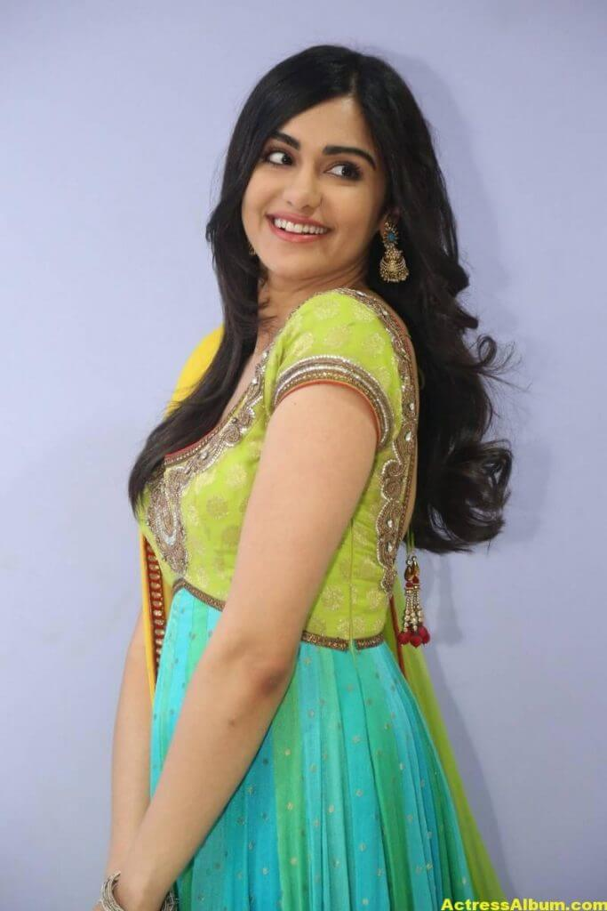 Actress Adah Sharma Hot In Yellow Dress 6