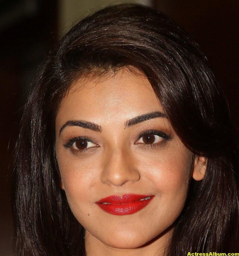 Actress Kajal Aggarwal Face Close Up Stills 0