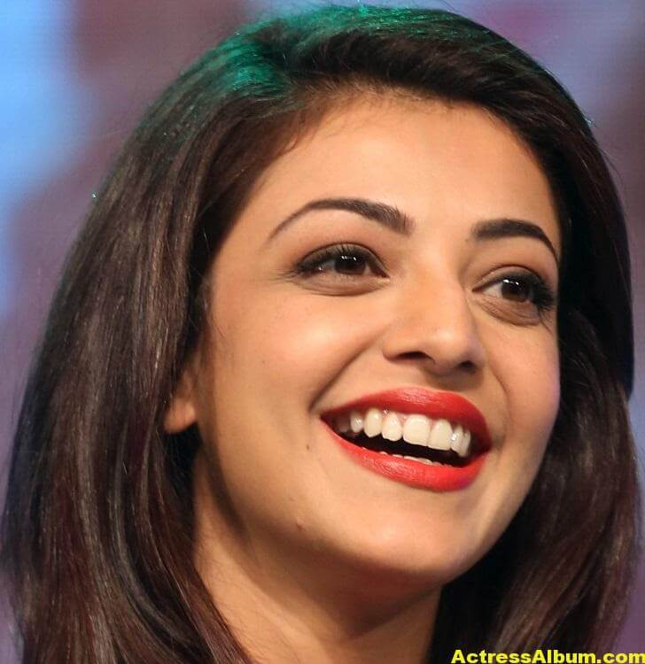 Actress Kajal Aggarwal Face Close Up Stills 1