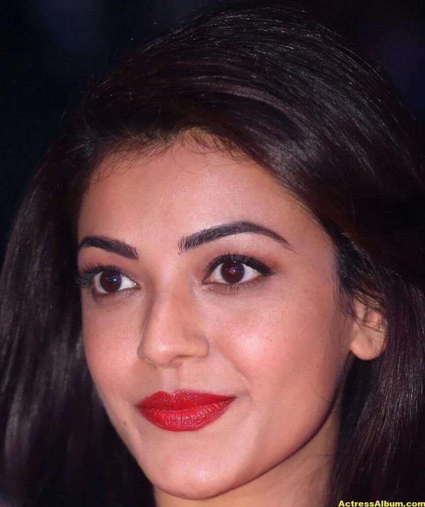 Actress Kajal Aggarwal Face Close Up Stills 3