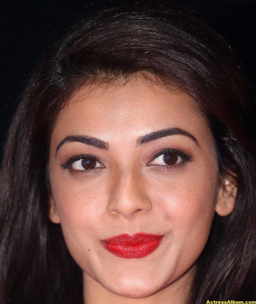 Actress Kajal Aggarwal Face Close Up Stills 4