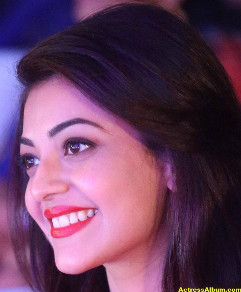 Actress Kajal Aggarwal Face Close Up Stills 5