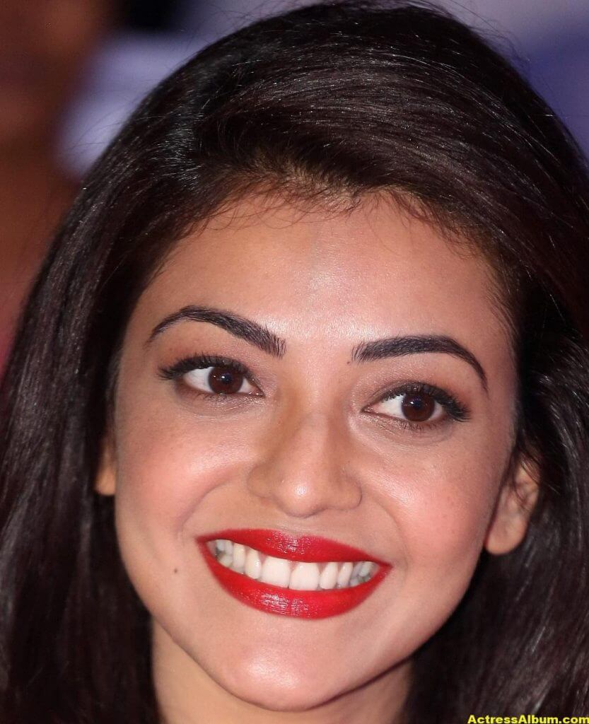 Actress Kajal Aggarwal Face Close Up Stills 6