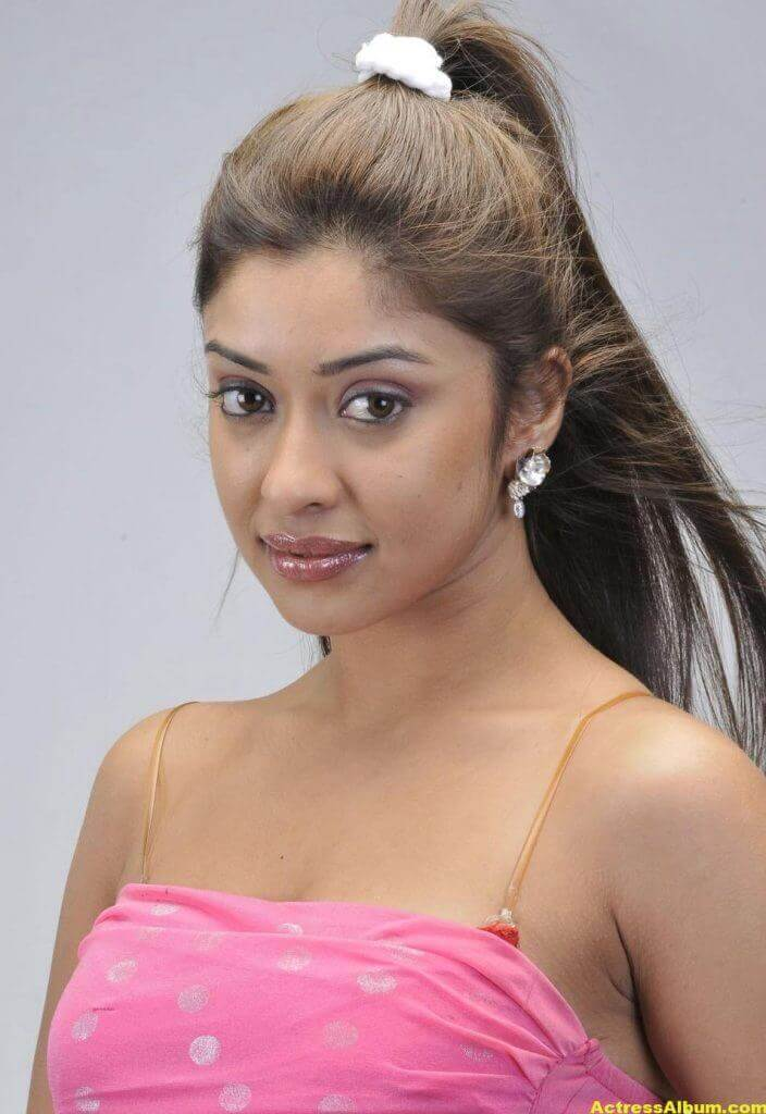 Actress Payal Ghosh Latest Pics in Pink Dress 1