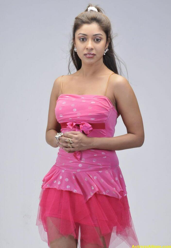 Actress Payal Ghosh Latest Pics in Pink Dress 5