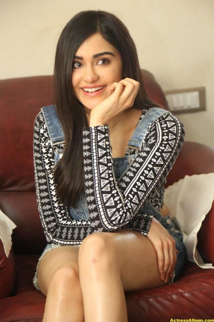 Adah Sharma Latest Hot Thigh Showing Photos 1