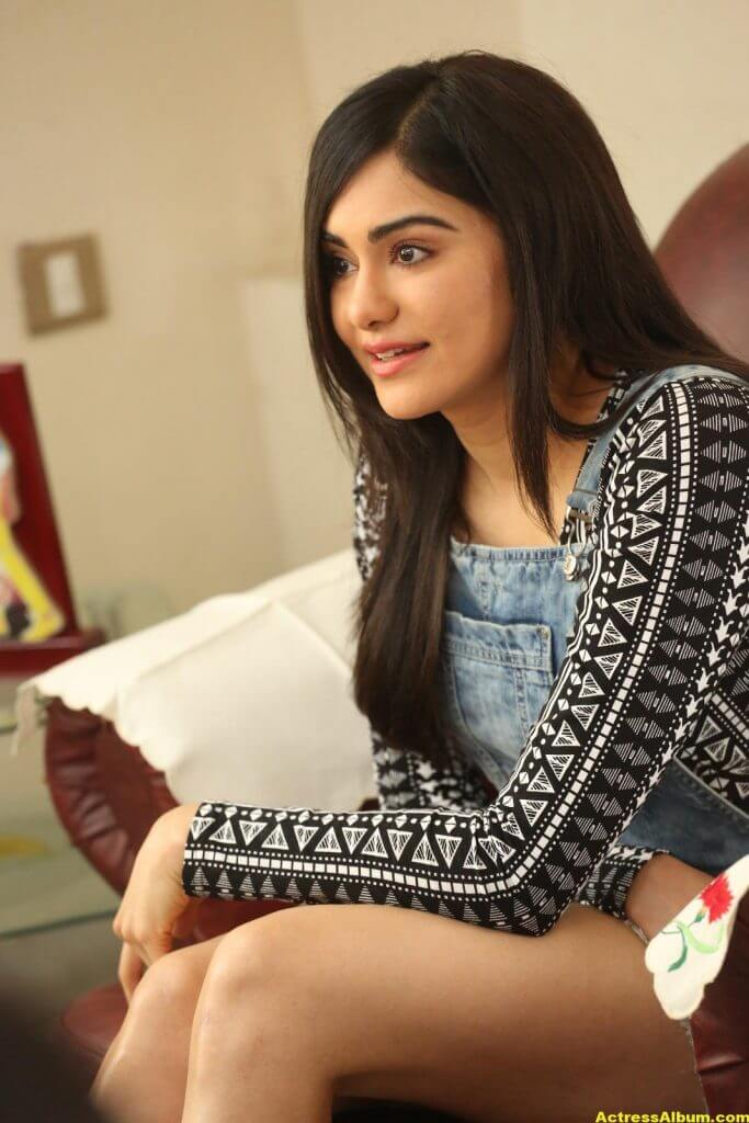 Adah Sharma Latest Hot Thigh Showing Photos 2