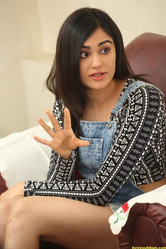 Adah Sharma Latest Hot Thigh Showing Photos 3