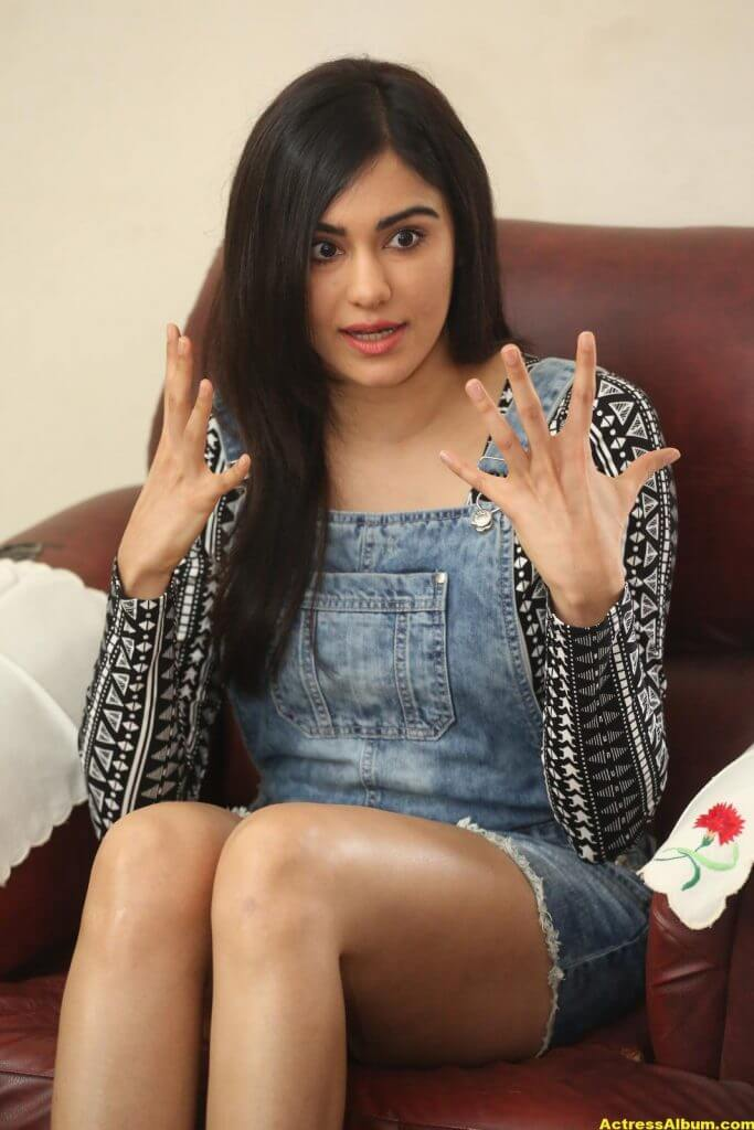 Adah Sharma Latest Hot Thigh Showing Photos 4