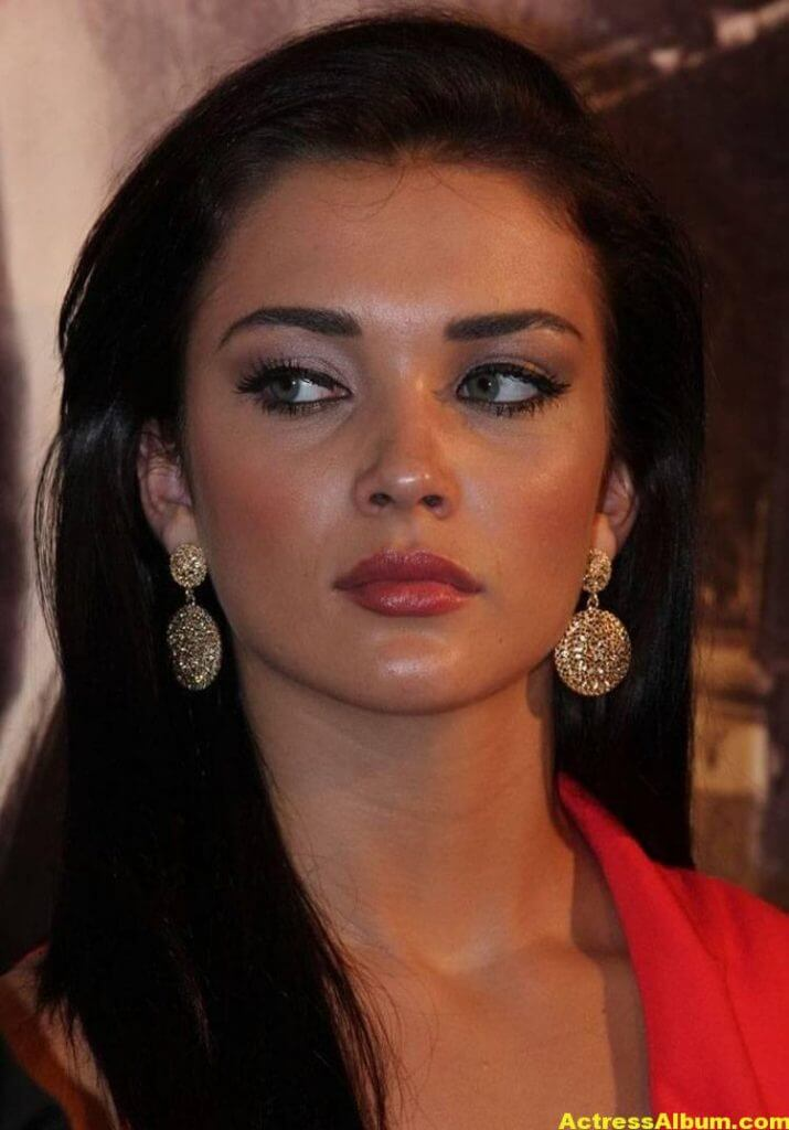 Amy Jackson Latest Photos In Red Dress 8