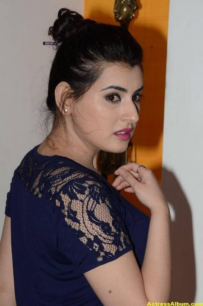 Archana Latest Gorgeous Stills In Blue Dress 2