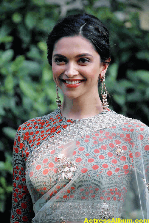 Deepika Padukone Gorgeous Photos In Saree 2