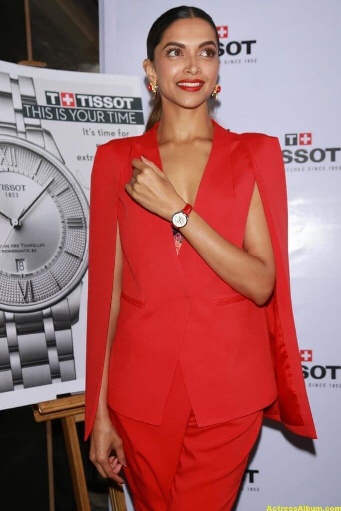 Deepika Padukone Latest Photos In Red Dress - Actress Album