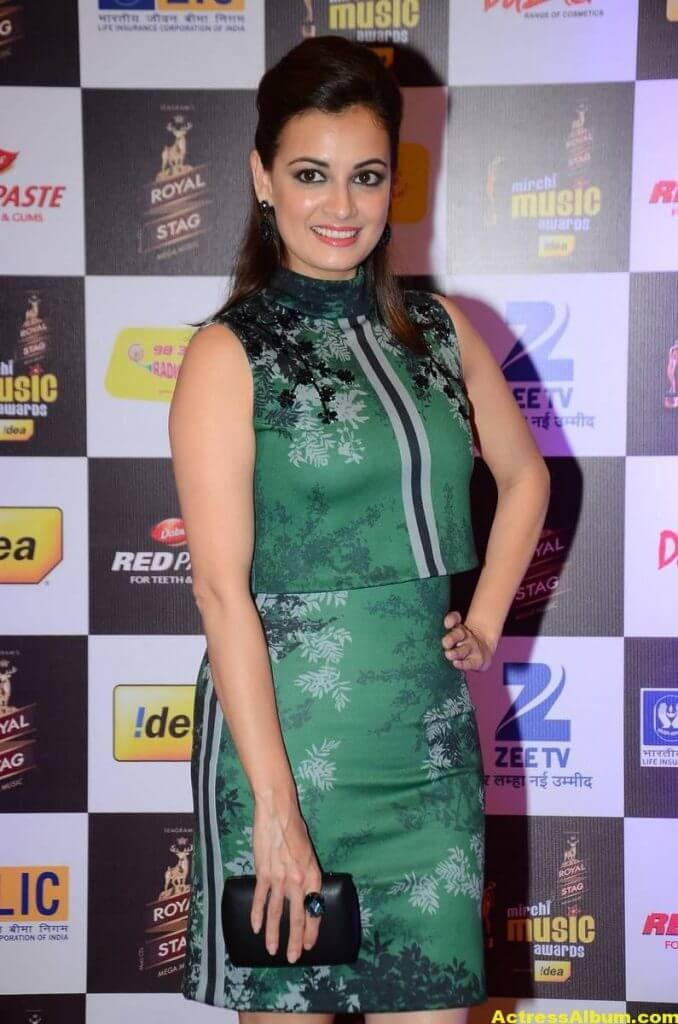 Dia Mirza Photos At Latest Mirchi Music Awards 1
