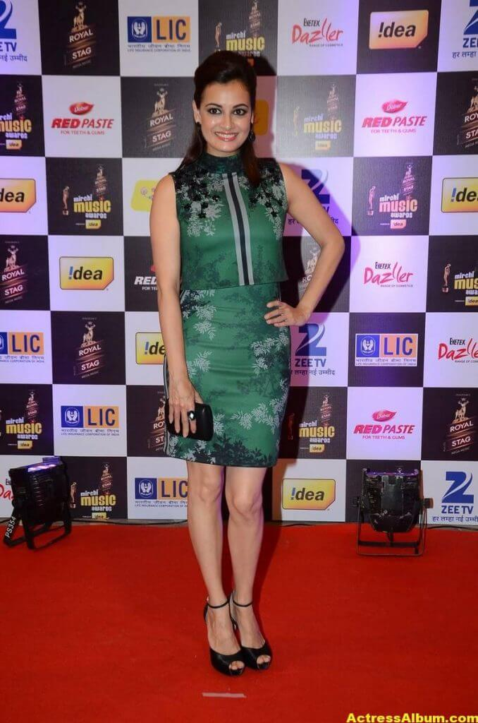 Dia Mirza Photos At Latest Mirchi Music Awards 3