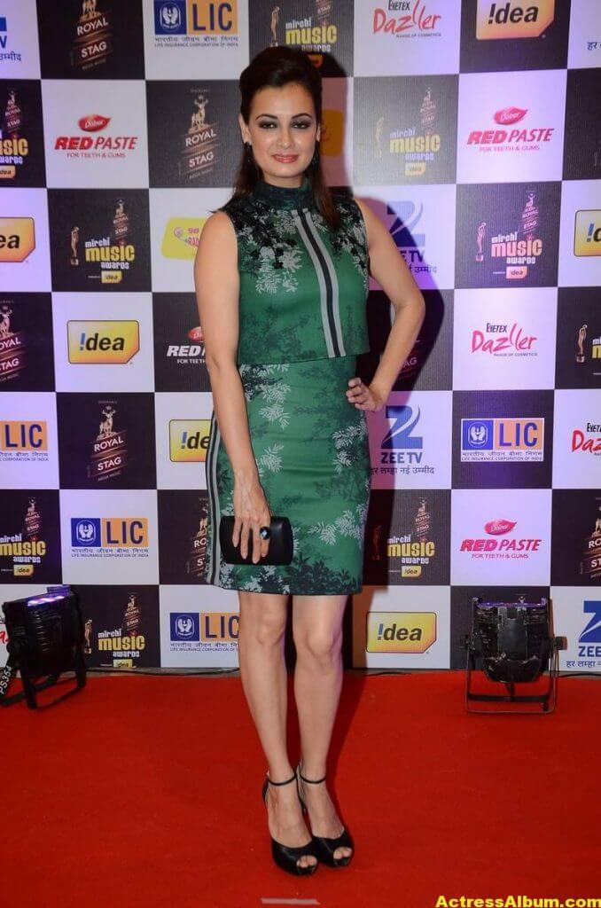 Dia Mirza Photos At Latest Mirchi Music Awards 4