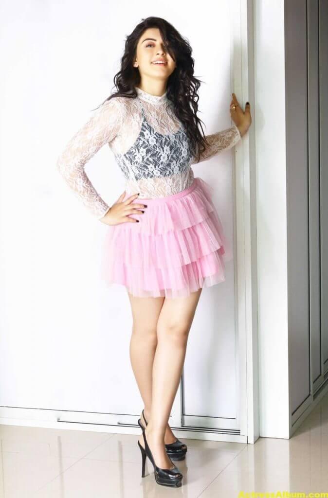 Hansika Hot Legs Showing Photoshoot 2
