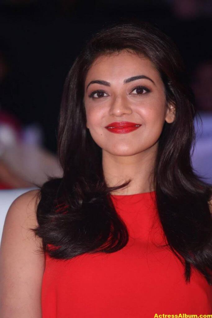 Kajal Aggarwal Beautiful Photos In Orange Dress 1