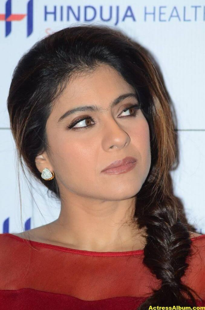 Kajol Beautiful Photos In Maroon Dress 2