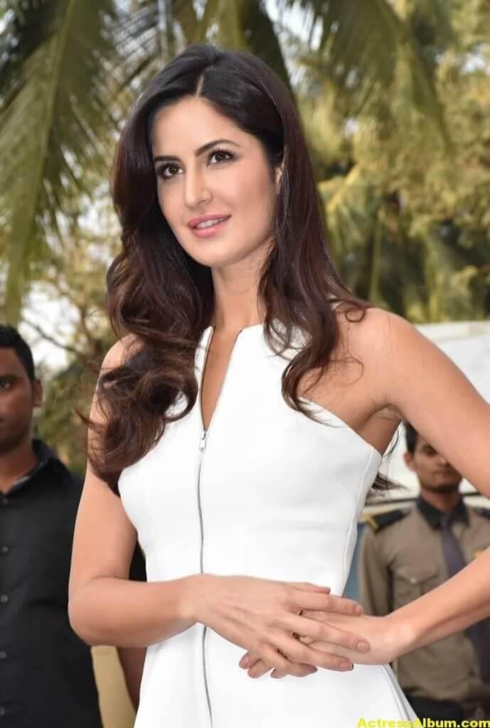 Katrina Kaif Hot Pictures in White Dress 1
