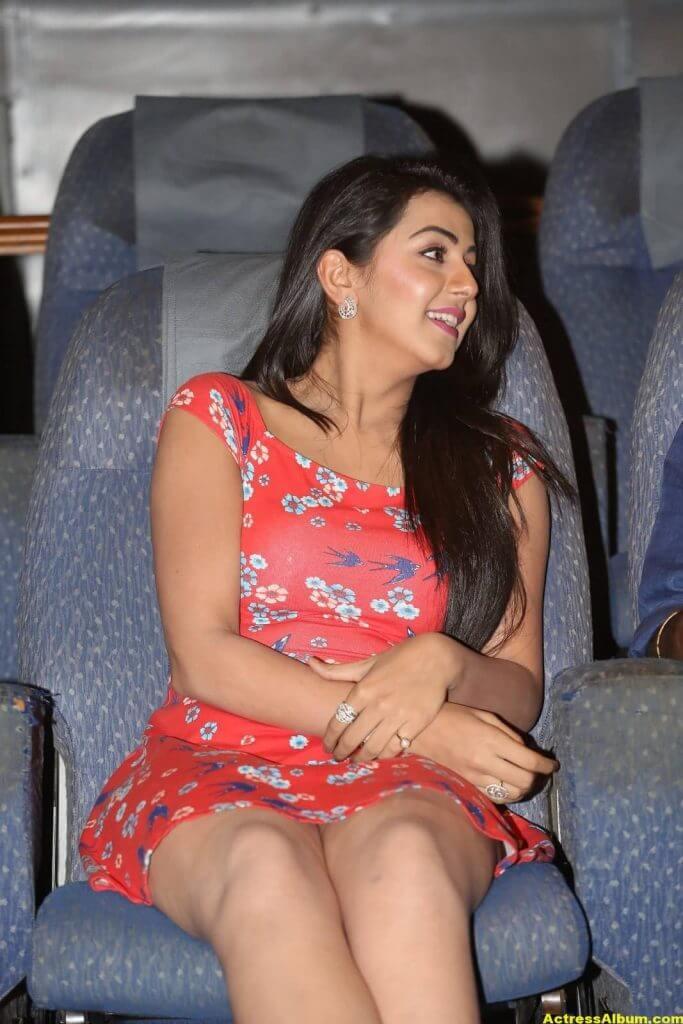 Nikki Galrani Hot Legs Showing Photos 5