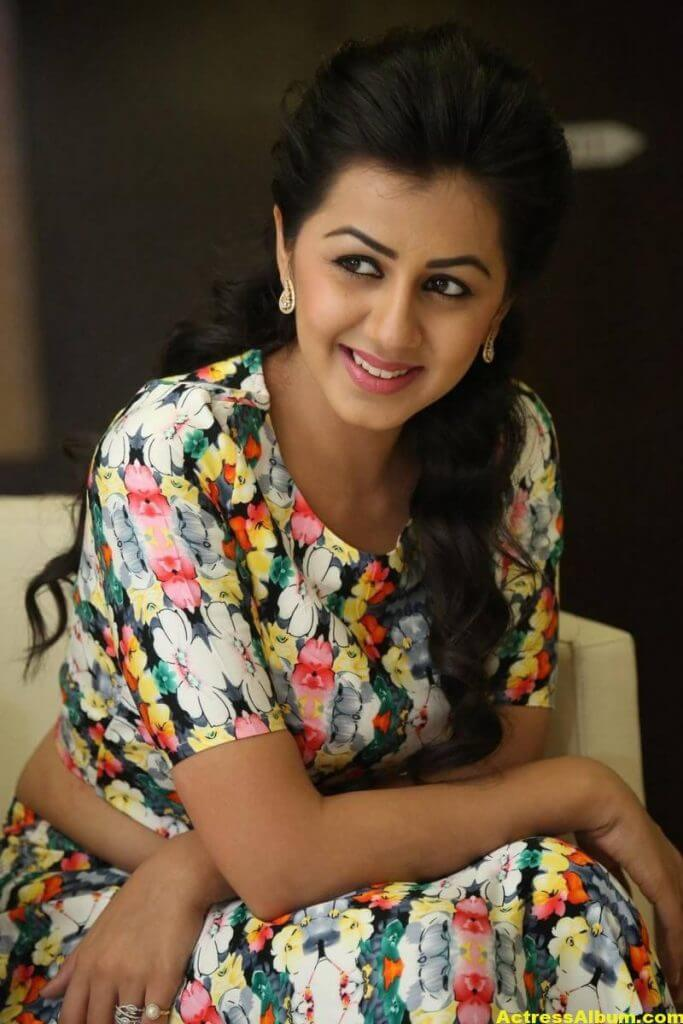 Nikki Galrani Stills Latest Photoshoot In White Dress 1