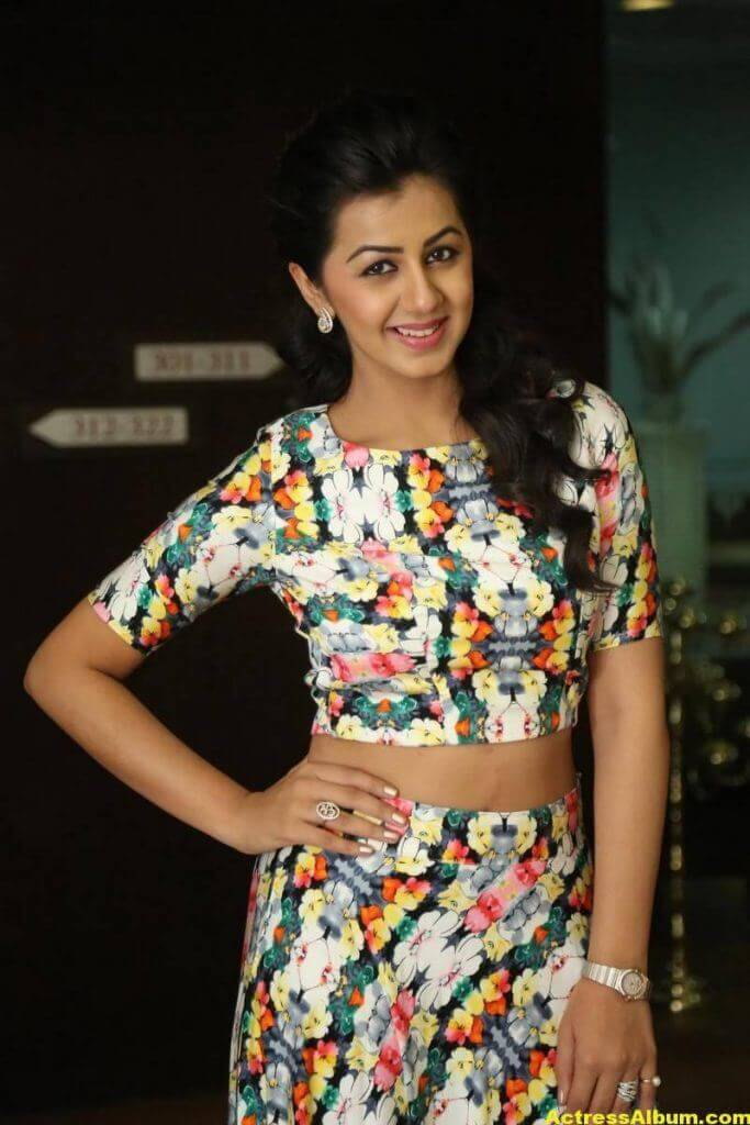 Nikki Galrani Stills Latest Photoshoot In White Dress 4