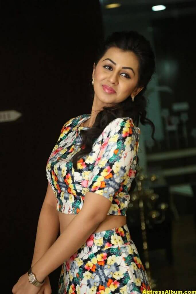 Nikki Galrani Stills Latest Photoshoot In White Dress 5