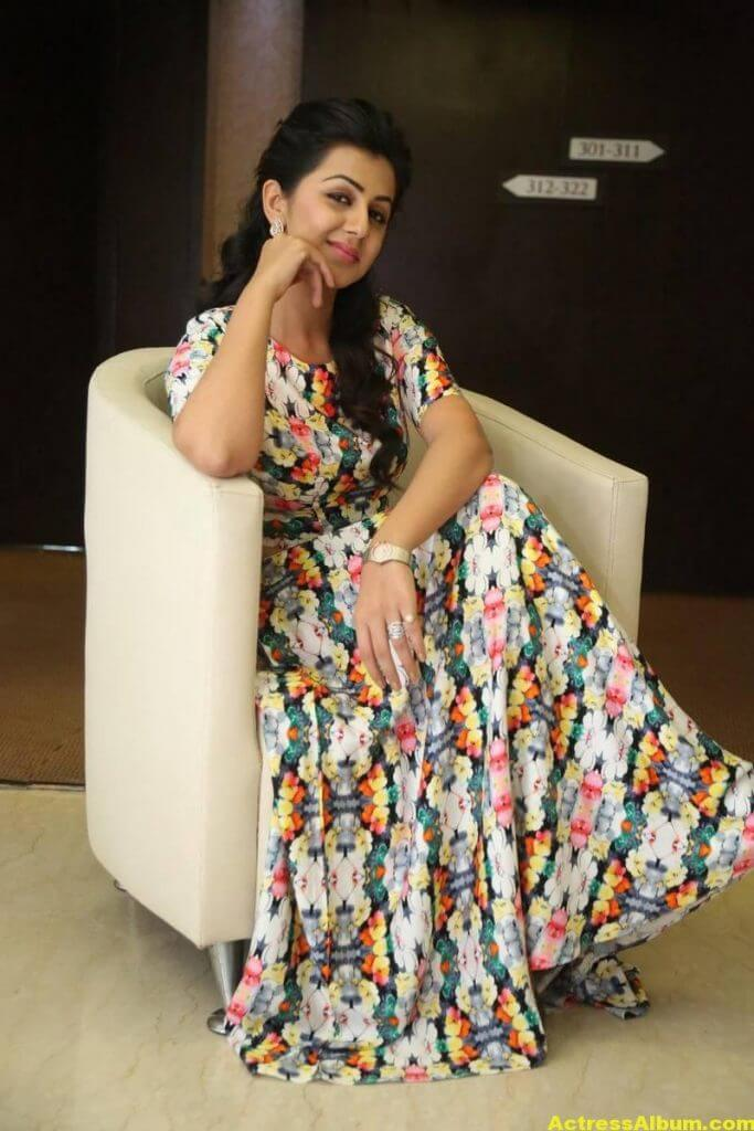 Nikki Galrani Stills Latest Photoshoot In White Dress 6