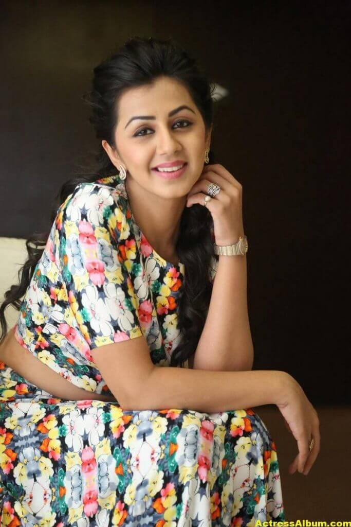 Nikki Galrani Stills Latest Photoshoot In White Dress 8