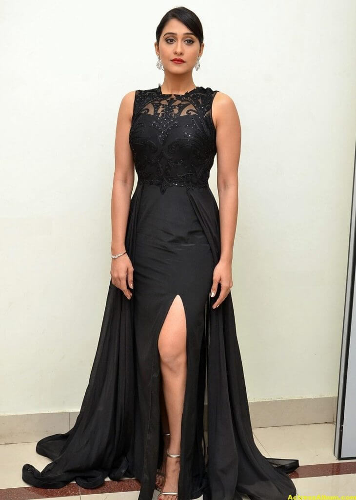 Regina Cassandra Hot Photos In Black Dress 1