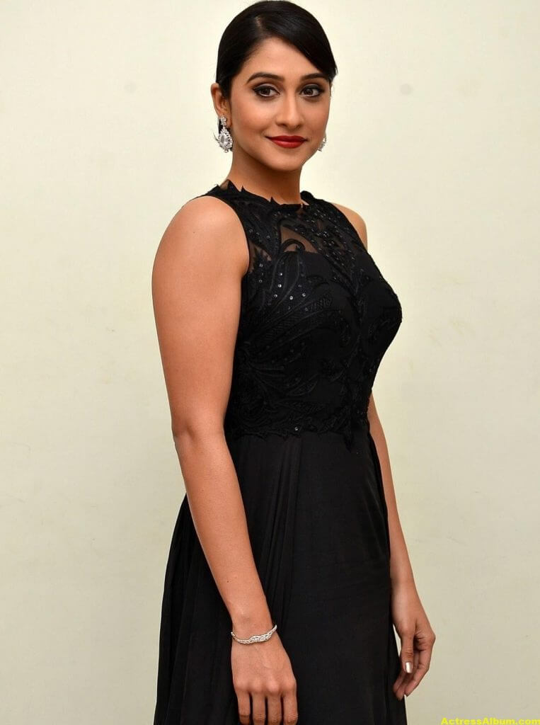 Regina Cassandra Hot Photos In Black Dress 2