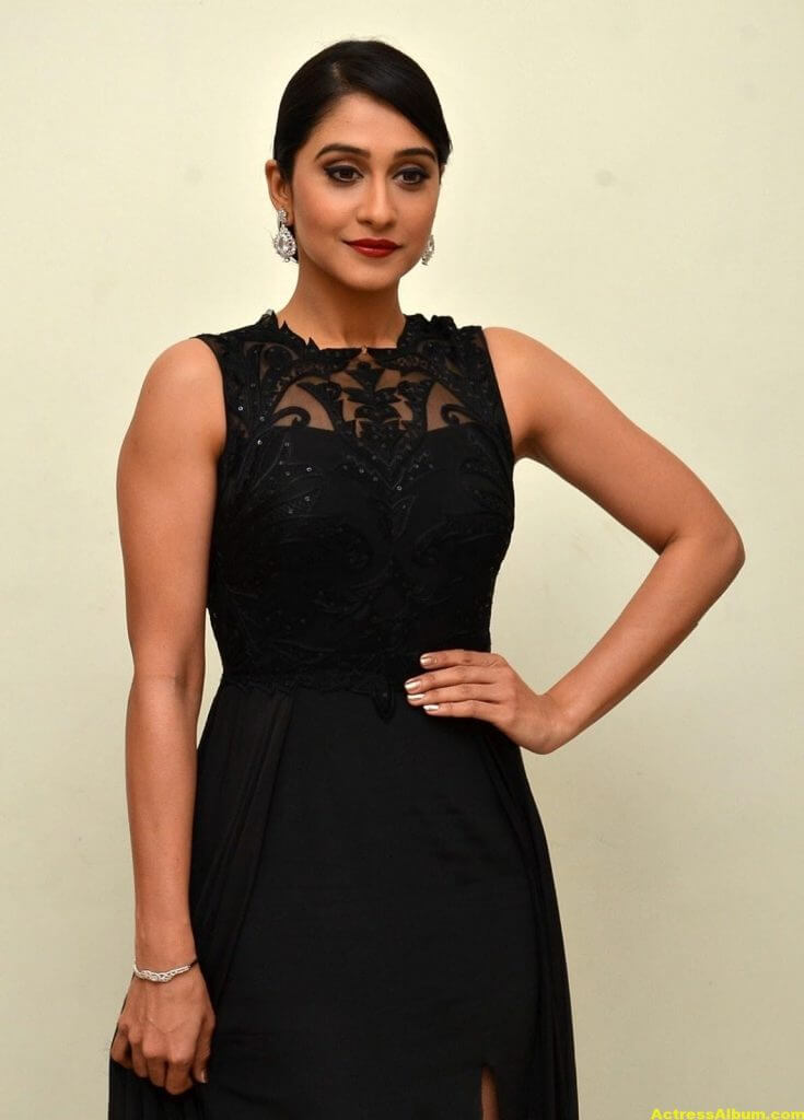 Regina Cassandra Hot Photos In Black Dress 3