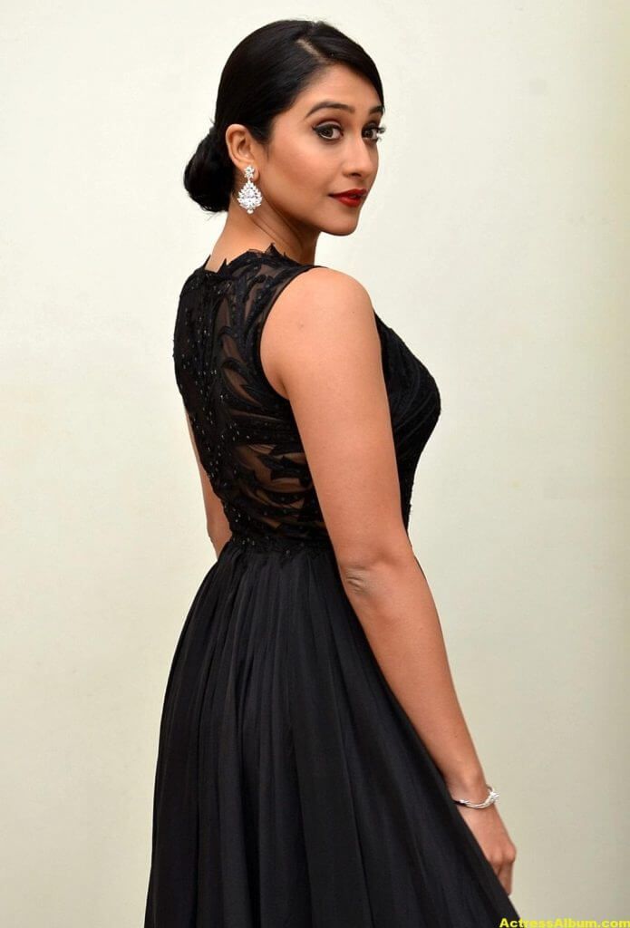 Regina Cassandra Hot Photos In Black Dress 4