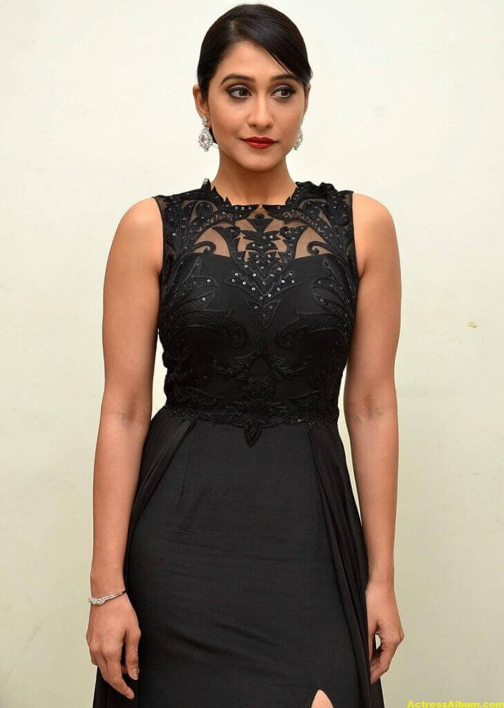 Regina Cassandra Hot Photos In Black Dress 5