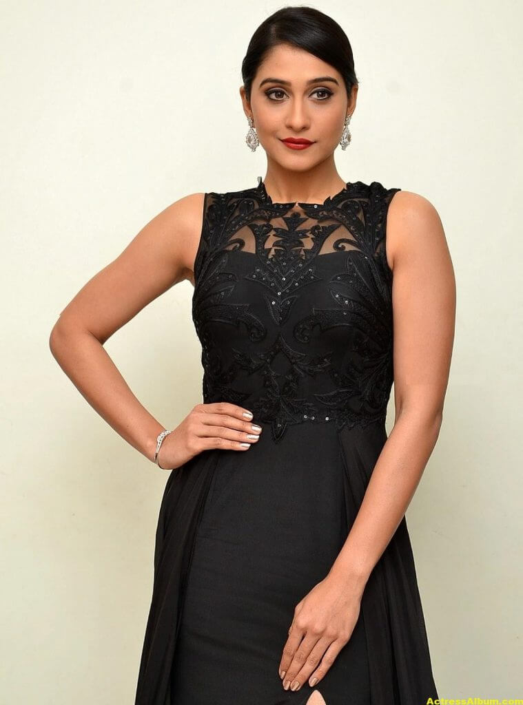 Regina Cassandra Hot Photos In Black Dress 6