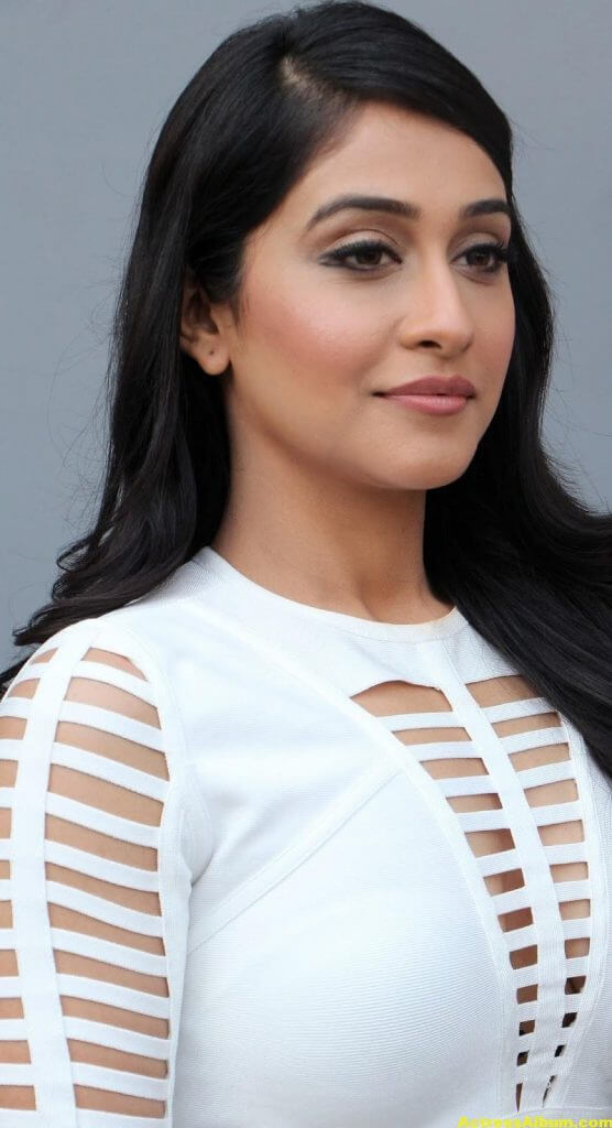 Regina Cassandra Hot Photoshoot In White Dress (1)