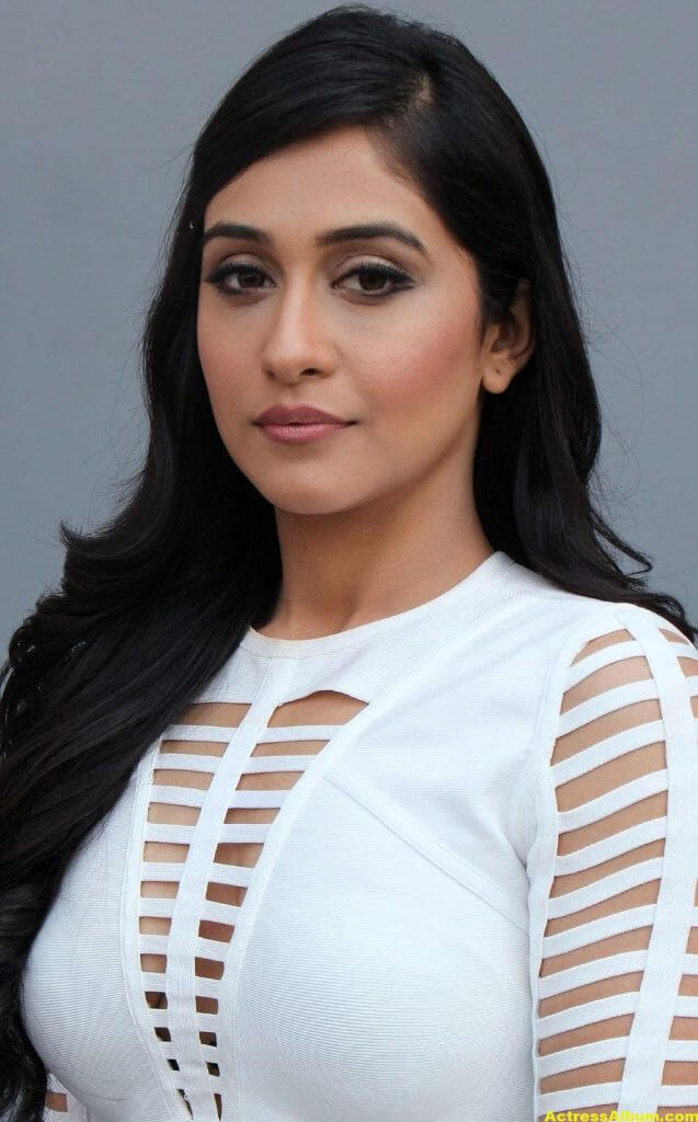 Regina Cassandra Hot Photoshoot In White Dress (4)