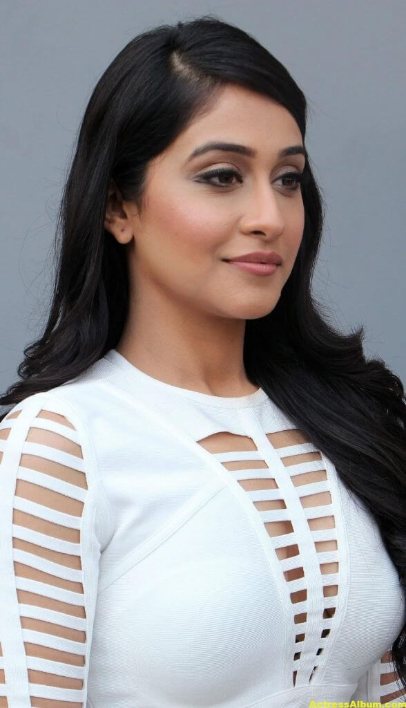 Regina Cassandra Hot Photoshoot In White Dress (6)