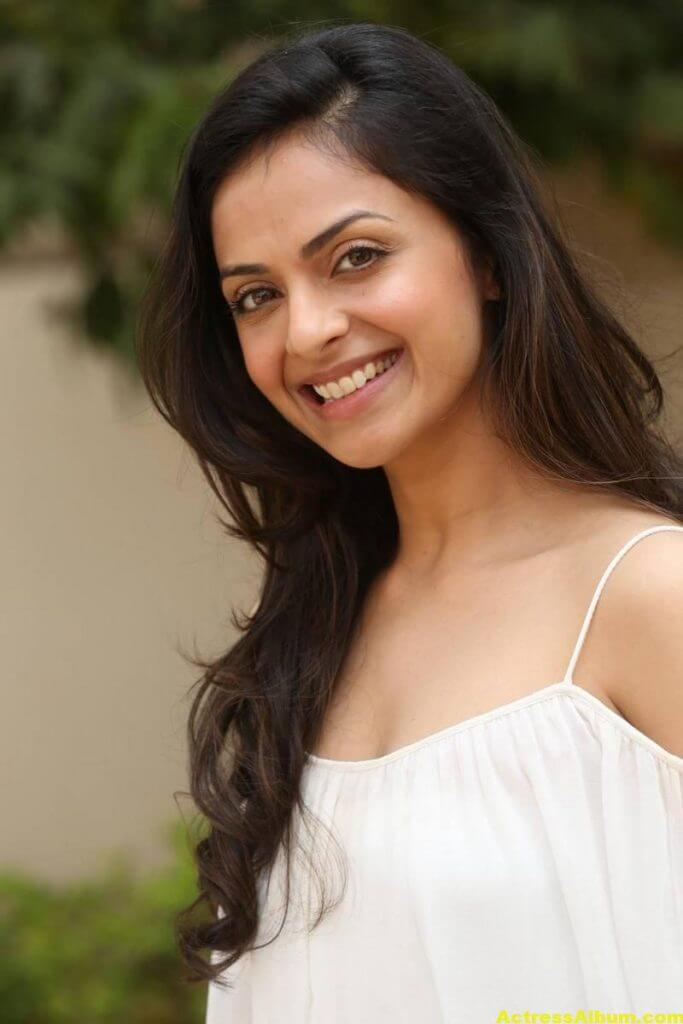 Richa Pallod Latest Hot Photoshoot In White Dress 4