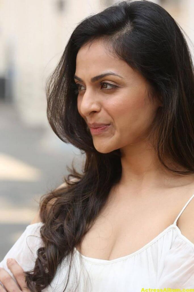 Richa Pallod Latest Hot Photoshoot In White Dress 6