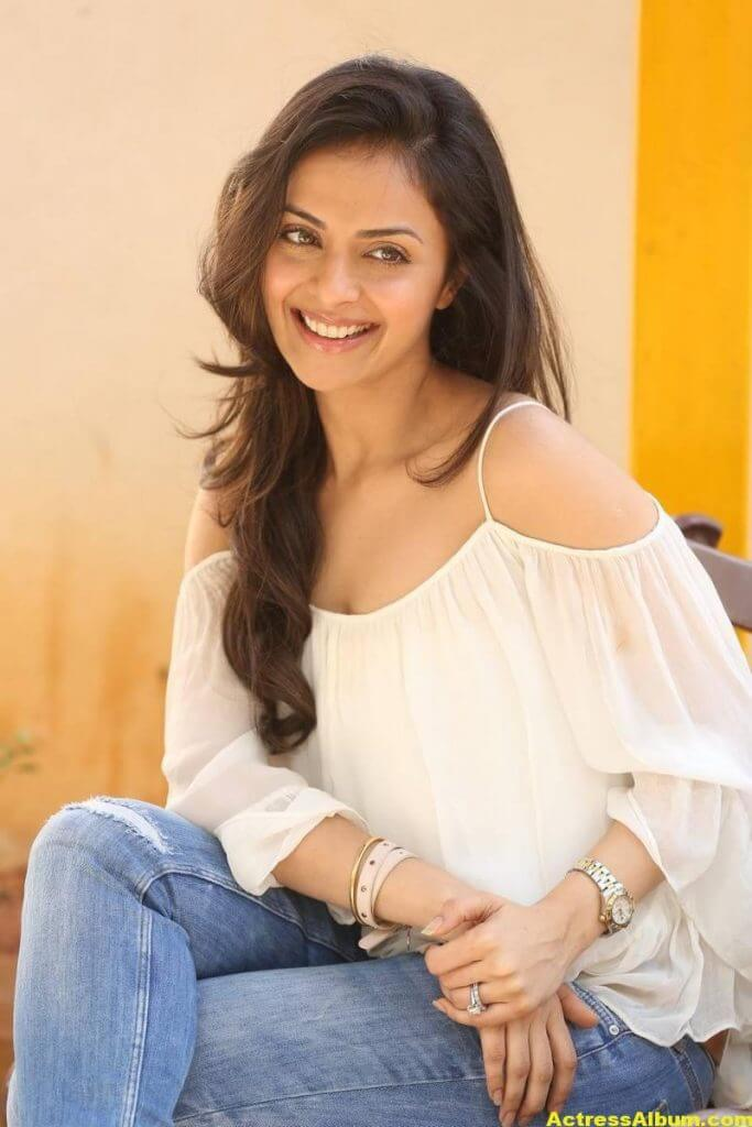 Richa Pallod Latest Hot Photoshoot In White Dress 7
