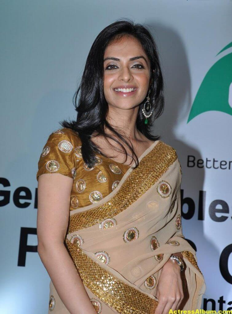 Richa Pallod Latest Photos In Hot Saree 3