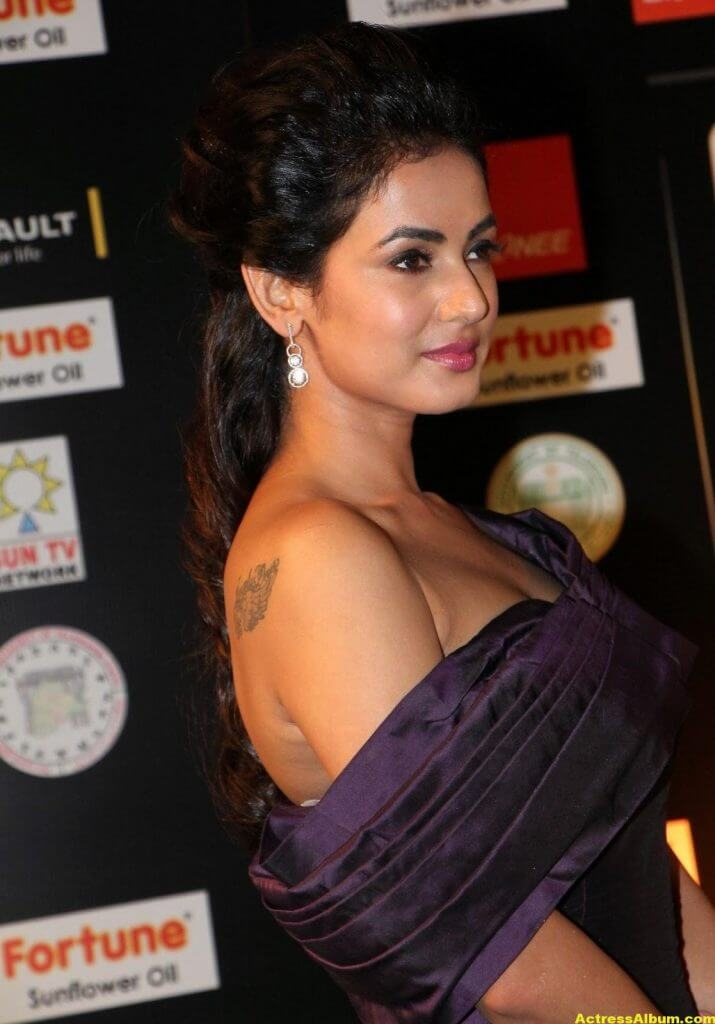 Sonal Chauhan Latest Hot Photos At Iifa Utsavam 3
