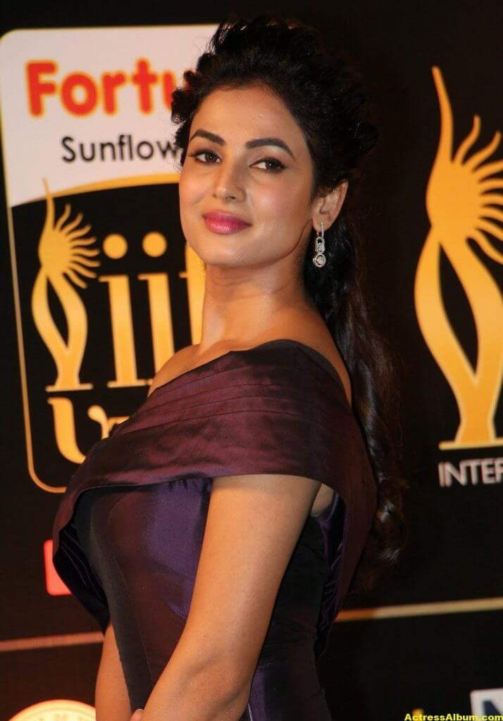 Sonal Chauhan Latest Hot Photos At Iifa Utsavam 5