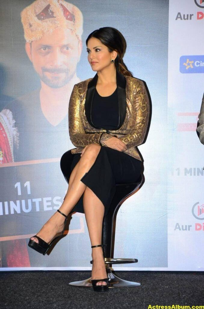 Sunny Leone Latest Hot Legs Showing Photoshoot 0