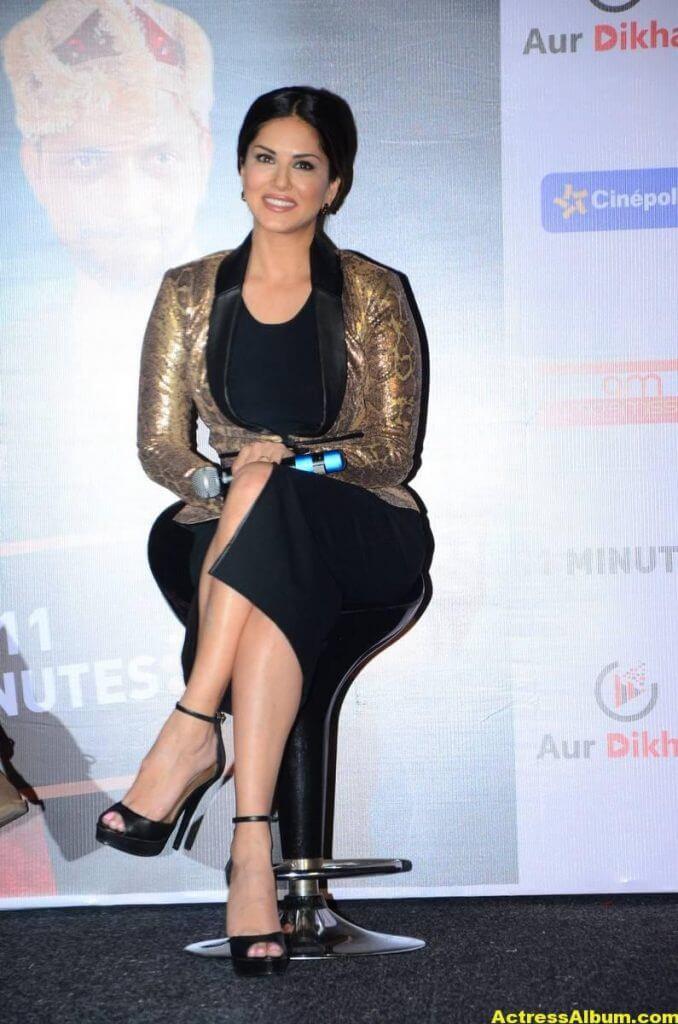 Sunny Leone Latest Hot Legs Showing Photoshoot 1