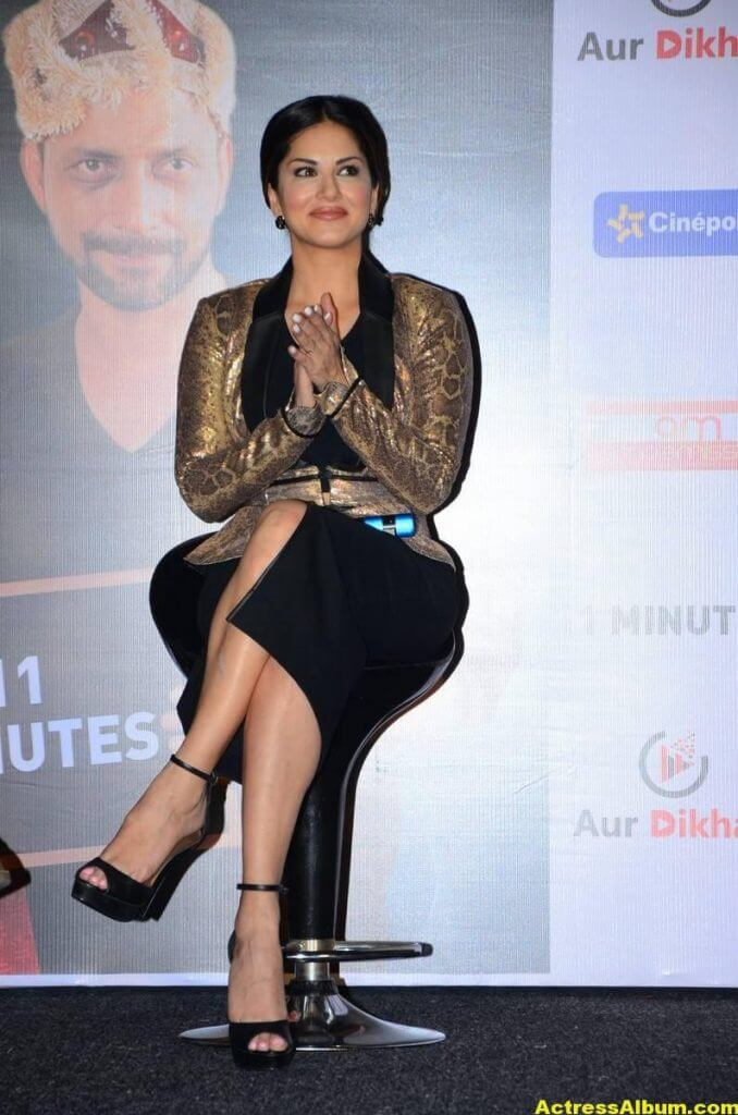 Sunny Leone Latest Hot Legs Showing Photoshoot 3